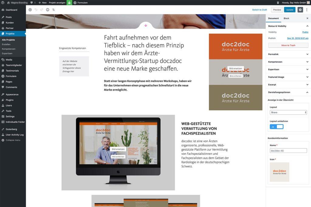 Nested Blöcke für WordPress Gutenberg